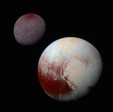 Pluto and Charon image
